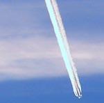 Plane Vapour