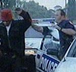 car chase arrest